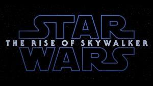 Star Wars Episode 9: Rise of Skywalker